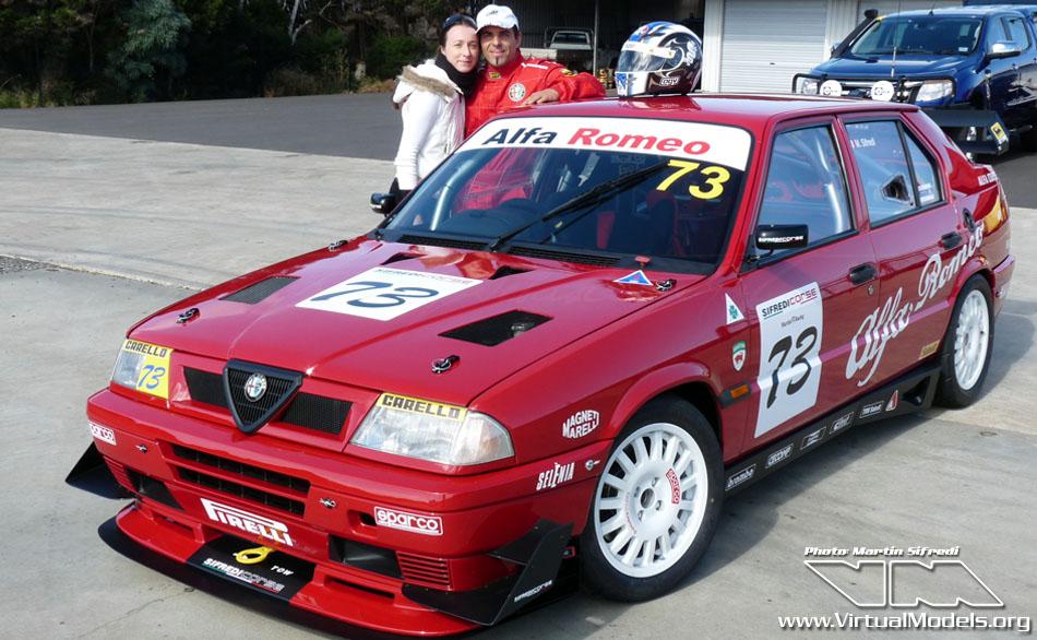 Alfa Romeo 33 16V Race Car by Martin Sifredi / Sifredi Corse