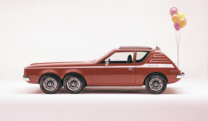 AMC Gremlin X six-wheeler | photoshop chop by Sebastian Motsch (2018)