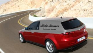 Alfa Romeo 159 Furgone Assistenza Servizio | photoshop chop by Sebastian Motsch (2018)