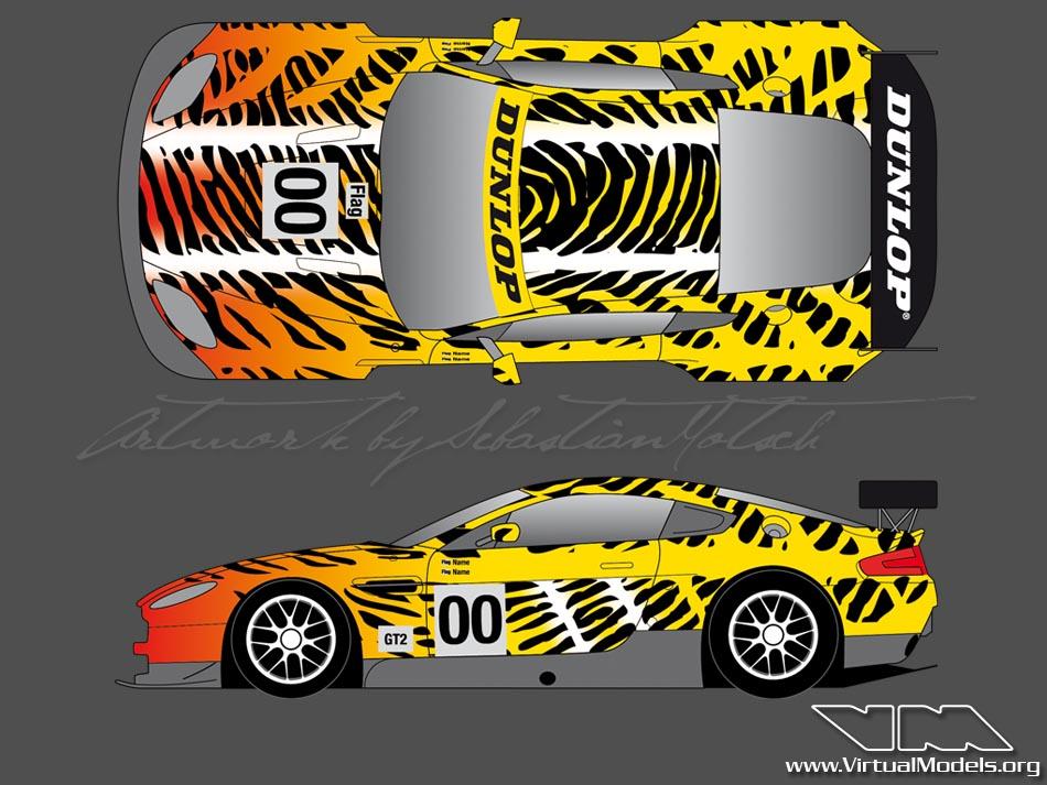 Aston Martin Vantage GT2 24h du Mans 2010 | livery design by Sebastian Motsch (2010)