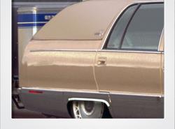 Cadillac Fleetwood Brougham with Airstream trailer   photoshop chop by Sebastian Motsch (2017)