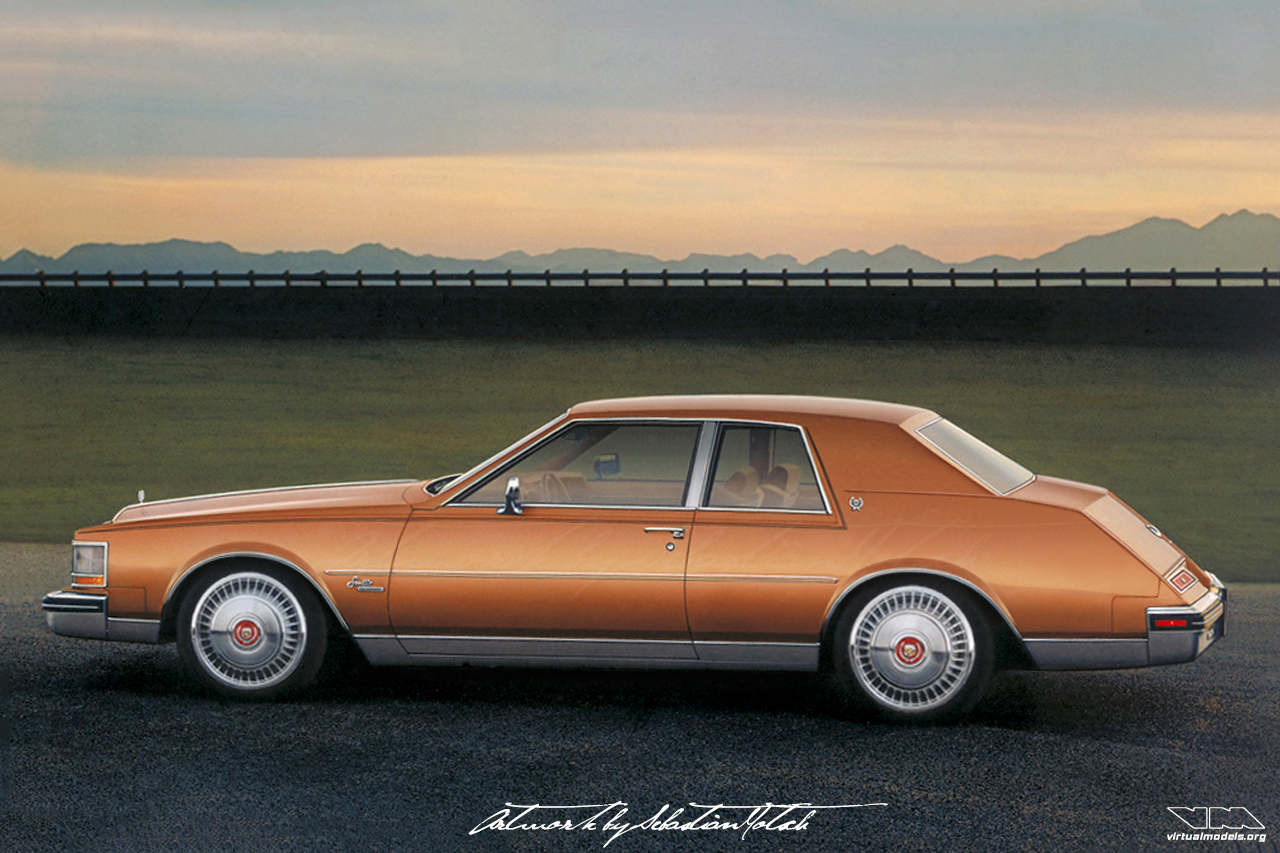Cadillac Seville Coupé | photoshop chop by Sebastian Motsch (2018)