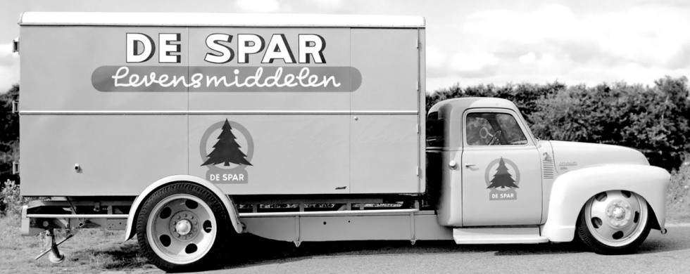 Chevrolet 4400 Chassis Cab Hot Rod Box Van Spar Levensmiddelen | photoshop chop by Sebastian Motsch (2019)