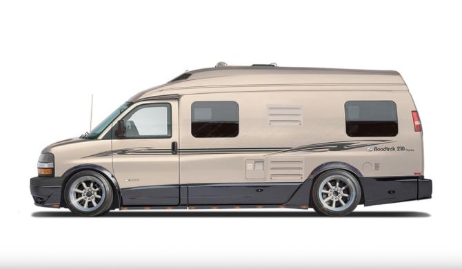 Chevrolet Express Van 3500 Roadtrek 210 Popular Drift Camper | photoshop chop by Sebastian Motsch (2017)