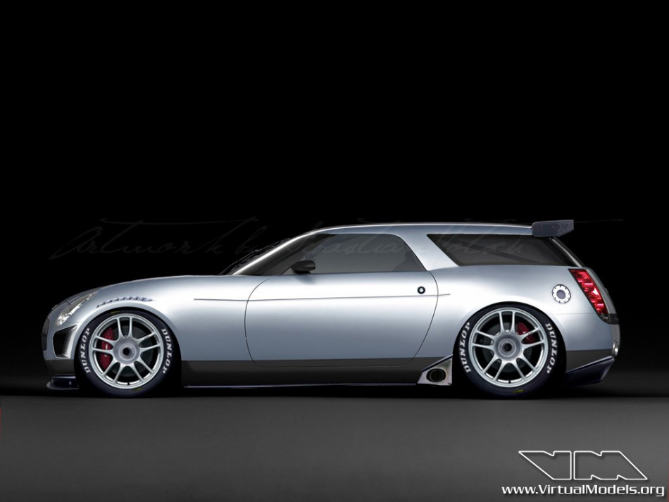 Chevrolet Nomad Concept Racecar | photoshop cby Sebastian Motsch (2009)
