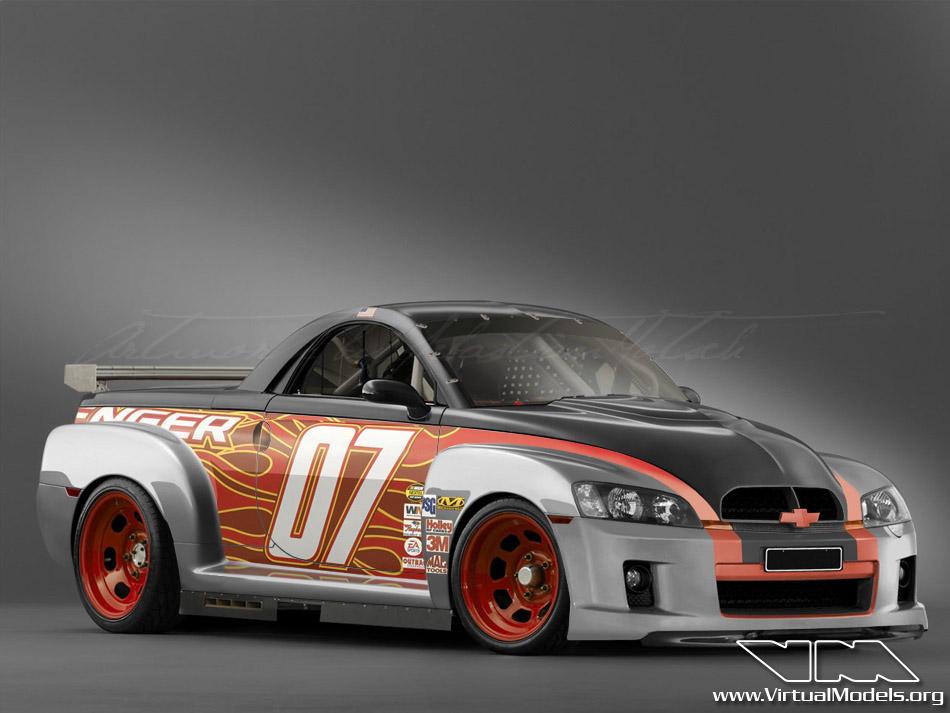 Chevrolet SSR NASCAR | photoshop chop by Sebastian Motsch (2009)