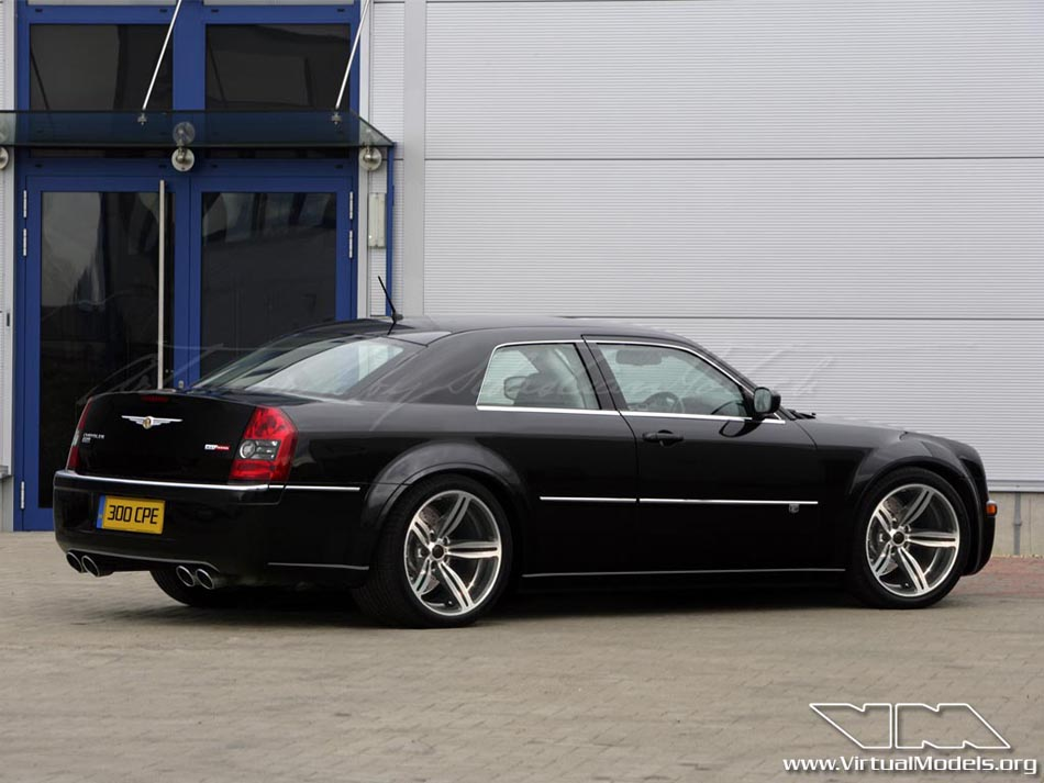 Chrysler 300C SRT8 Coupé | photoshop chop by Sebastian Motsch (2008)
