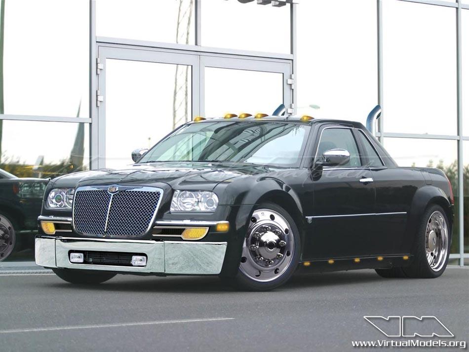 Chrysler 300C Pick-up | photoshop chop by Sebastan Motsch (2006)