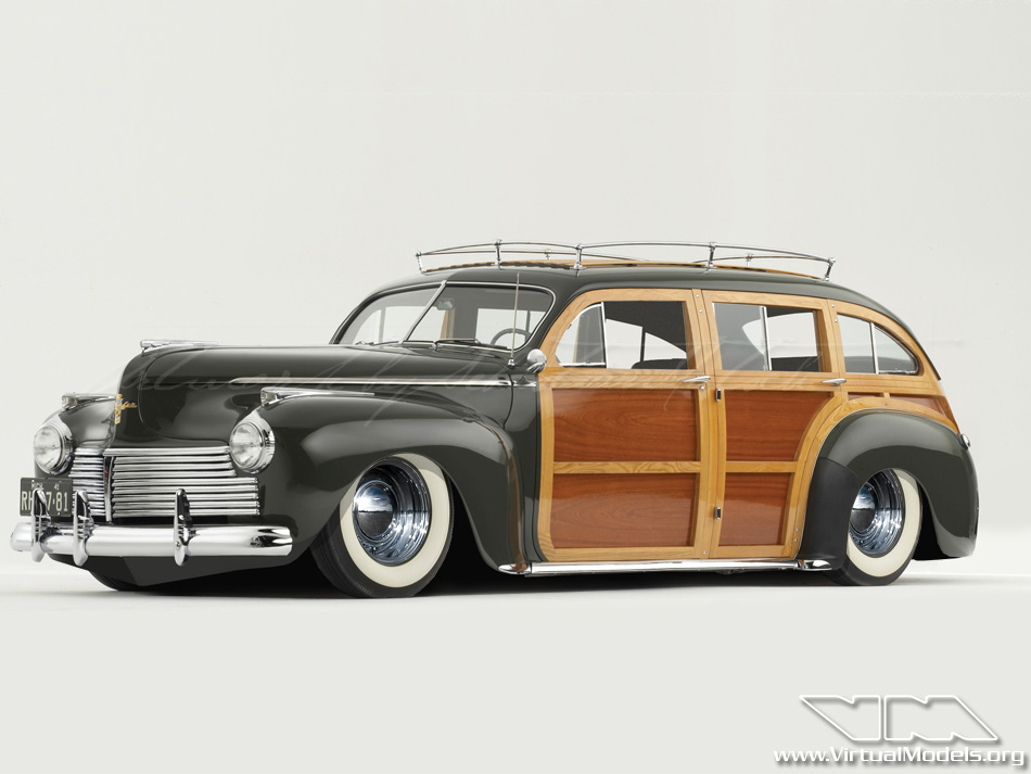 1941 Chrysler Town & Country Estate Wagon | photoshop chop by Sebastian Motsch (2009)