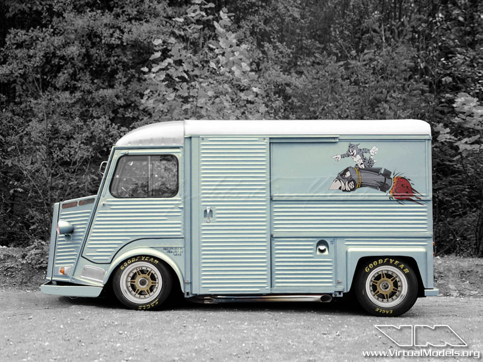 Citroen HY Custom V8 | photoshop chop by Sebastian Motsch (2011)