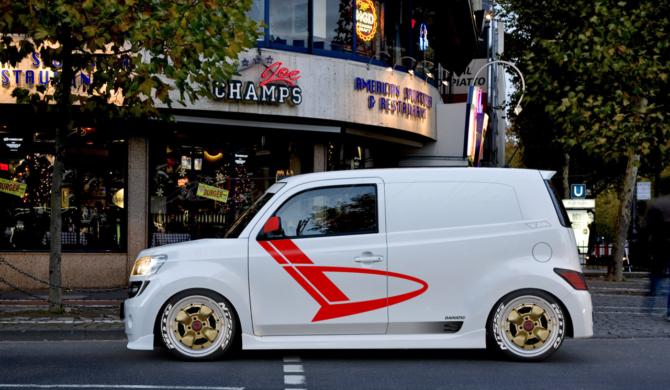 Daihatsu Materia Sport Panel Van Conversion | photoshop chop by Sebastian Motsch (2018)