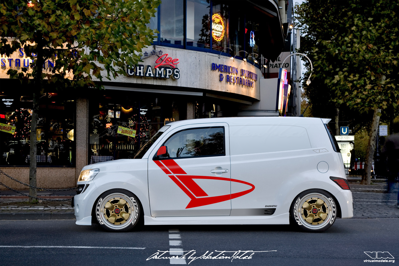 Daihatsu Materia Sport Panel Van Conversion | photoshop chop by Sebastian Motsch (2018)