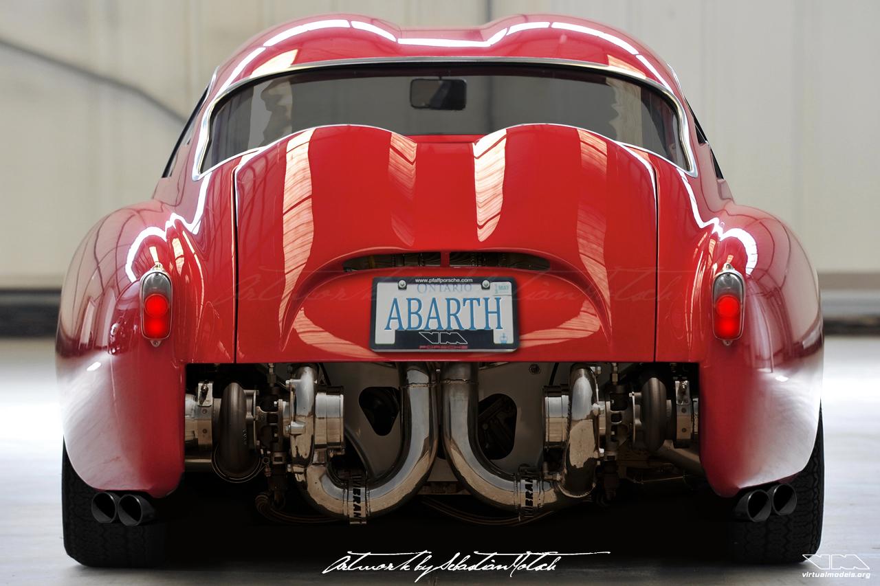 FIAT Abarth 750 GT Biturbo Bialbero Zagato photoshop chop by Sebastian Motsch