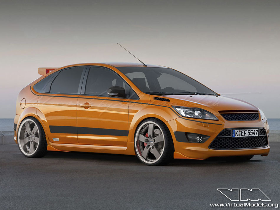 Ford Focus ST Mk2 4-door | photoshop chop by Sebastian