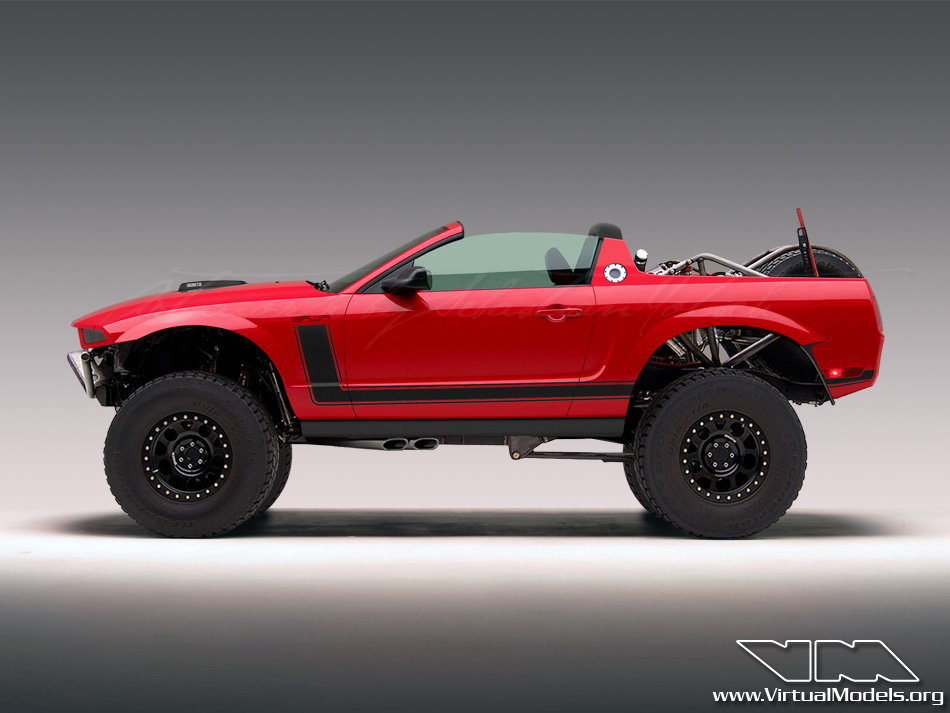 Ford Mustang BAJA Concept | photoshop chop by Sebastian Motsch (2012)