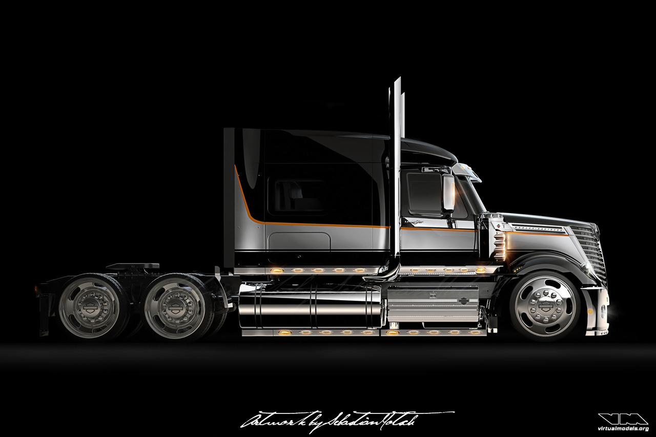 International Lonestar Harley-Davidson Special Showtruck | photoshop chop by Sebastian Motsch (2018)
