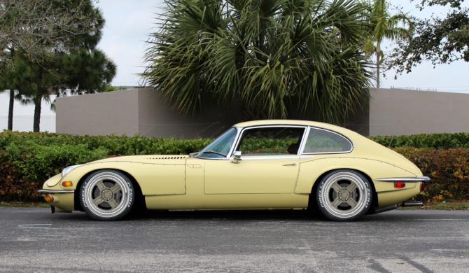 Jaguar E-Type Mk3 V12 with widebody kit | photoshop chop by Sebastian Motsch (2017)