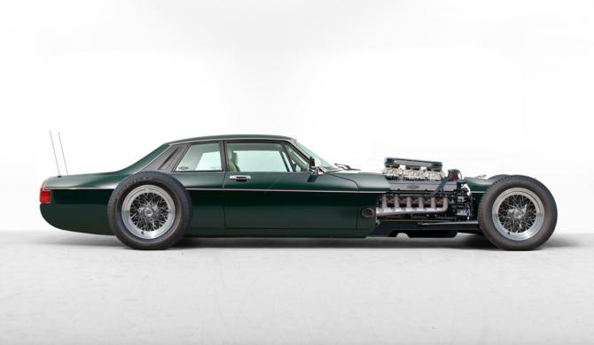 Jaguar XJ-S V12 Hot Rod   photoshop chop by Sebastian Motsch (2019)