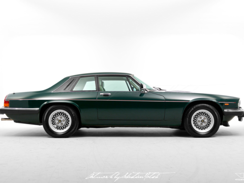 Jaguar XJ-S V12 Notchback | photoshop chop by Sebastian Motsch (2019)