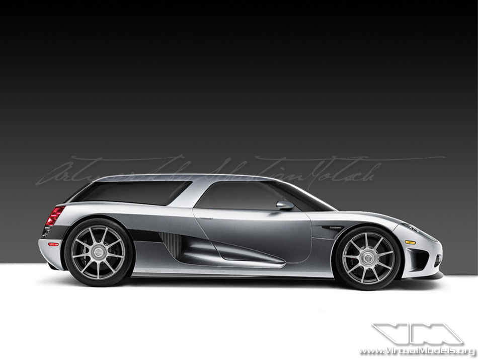 Koenigsegg CCX Shooting Break Concept | photoshop chop by Sebastian Motsch (2011)