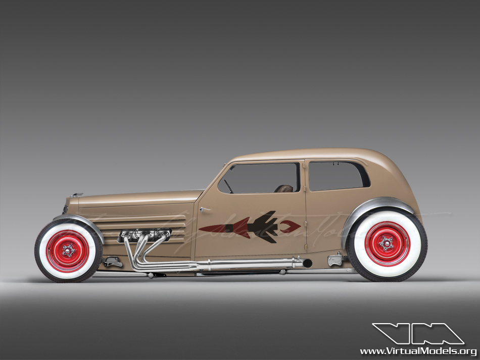 Marmon HCM V8 Hot Rod | photoshop chop by Sebastian Motsch (2012)