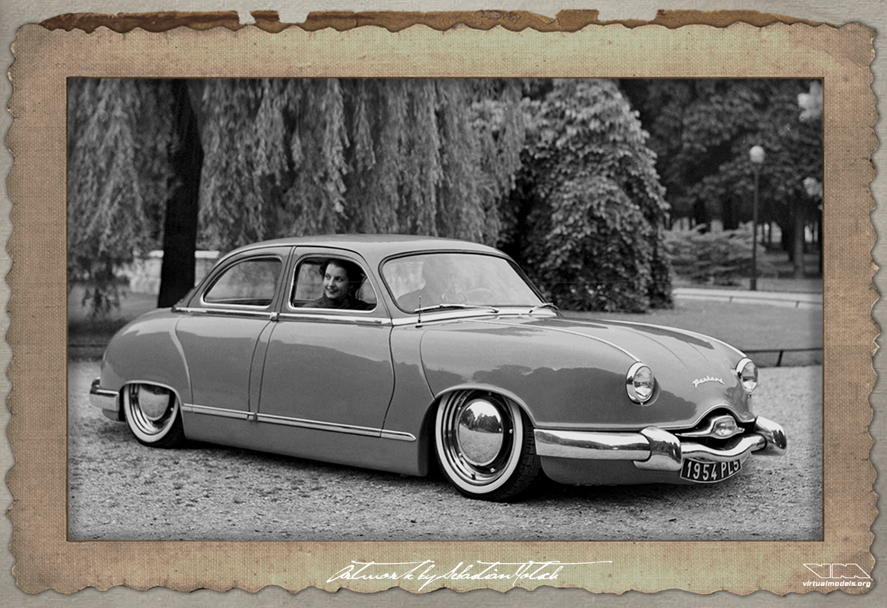 Panhard Dyna 54 Custom Lead Sled | photoshop chop by Sebastian Motsch (2018)
