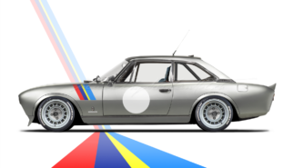 Peugeot 504 Coupé Works Racing Style | photoshop chop by Sebastian Motsch (2017)