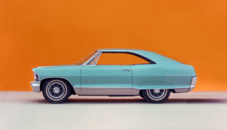 Pontiac Bonneville 2-Door Hardtop SWB 1965 | photoshop chop by Sebastian Motsch (2018)