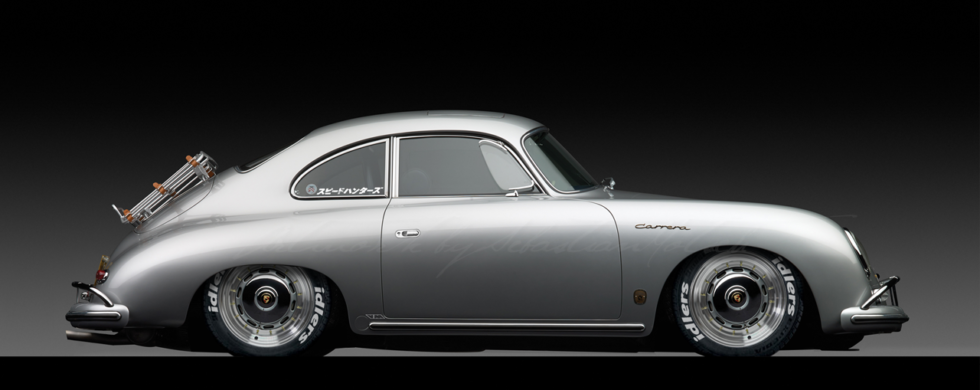 Porsche 356 1600 GS Carrera idlers | photoshop chop by Sebastian Motsch (2018)