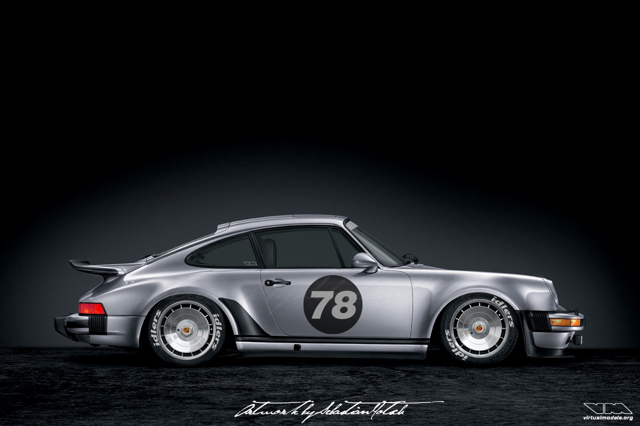 Porsche 911 Turbo 930 | photoshop chop by Sebastian Motsch (2018)