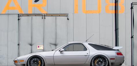 Porsche 928 GTS Widebody Conversion | photoshop chop by Sebastian Motsch (2018)