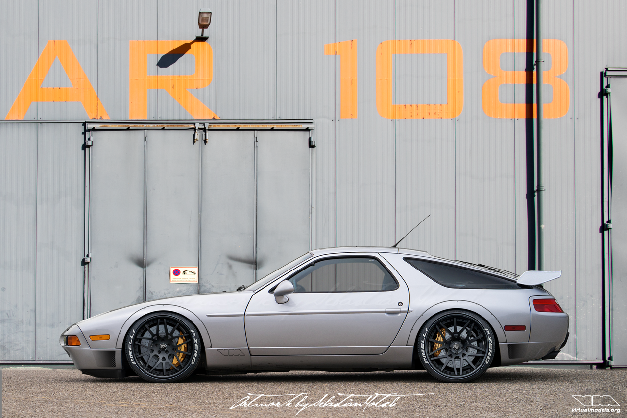Porsche 928 GTS Widebody Conversion | photoshop chop by Sebastian Motsch (2018)