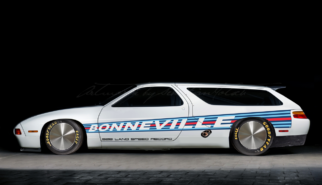 Porsche 928 LSR Bonneville Land Speed Record | photoshop chop by Sebastian Motsch (2019)