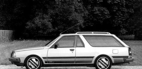 Renault R18 Turbo Shooting Break | photoshop chop by Sebastian Motsch (2018)