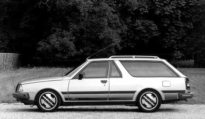 Renault R18 Turbo Shooting Break   photoshop chop by Sebastian Motsch (2018)