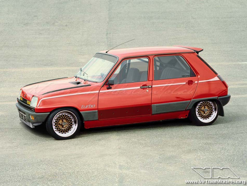 Renault 5 GTL Turbo | photoshop chop by Sebastian Motsch (2008)