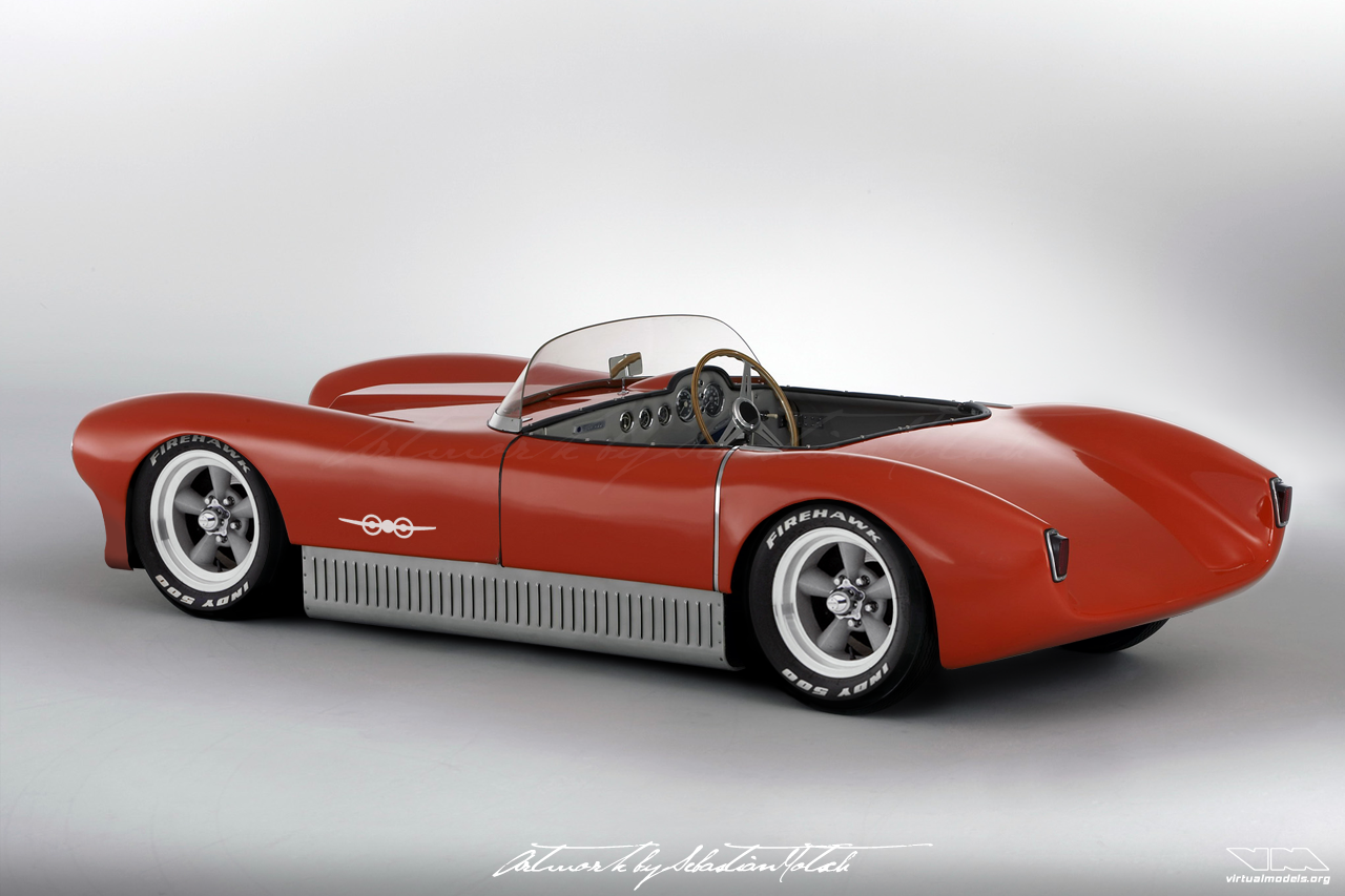 SAAB Sonett Mk1 Roadster | photoshop chop by Sebastian Motsch (2018)