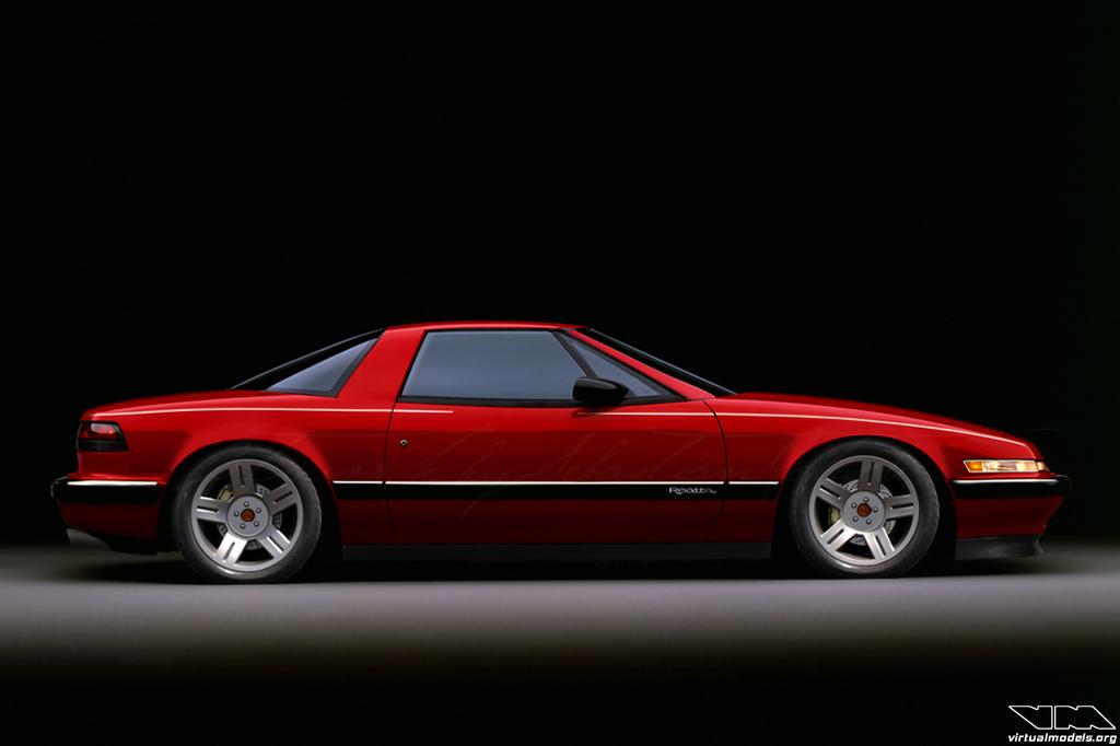 Buick Reatta V8 RWD conversion | photoshop chop by Sebastian Motsch (2014)