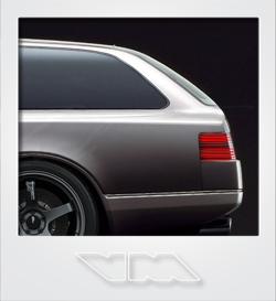 Nissan CUE-X Wagon Concept | photoshop chop by Sebastian Motsch (2015)