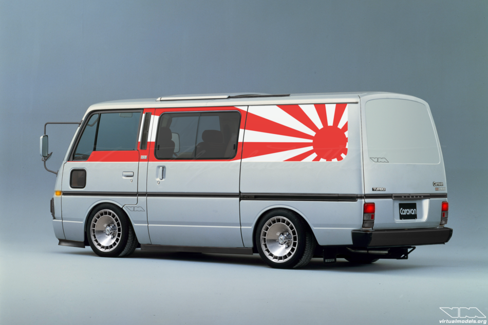 Nissan Caravan GSL Silk Road | photoshop chop by Sebastian Motsch (2016)
