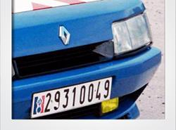 Renault R21 Turbo Gendarmerie   photoshop chop by Sebastian Motsch (2017)