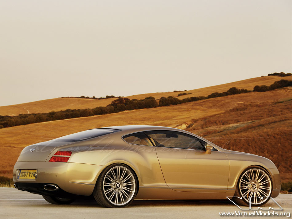 Bentley Continental GT Speed | photoshop chop by Sebastian Motsch (2010)