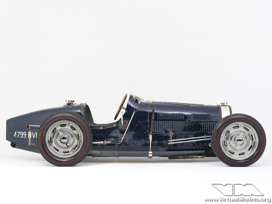 Bugatti Type 51 Hot Rod | photoshop chop by Sebastian Motsch (2013)