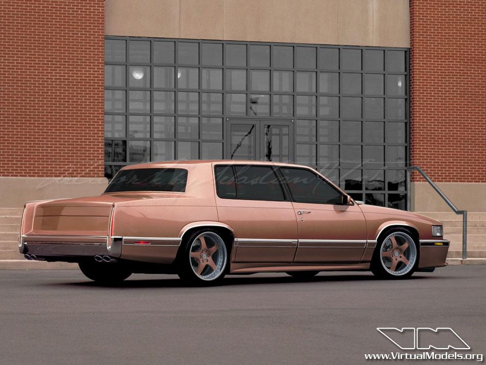 Cadillac DeVille ProTourer | photoshop chop by Sebastian Motsch (2010)