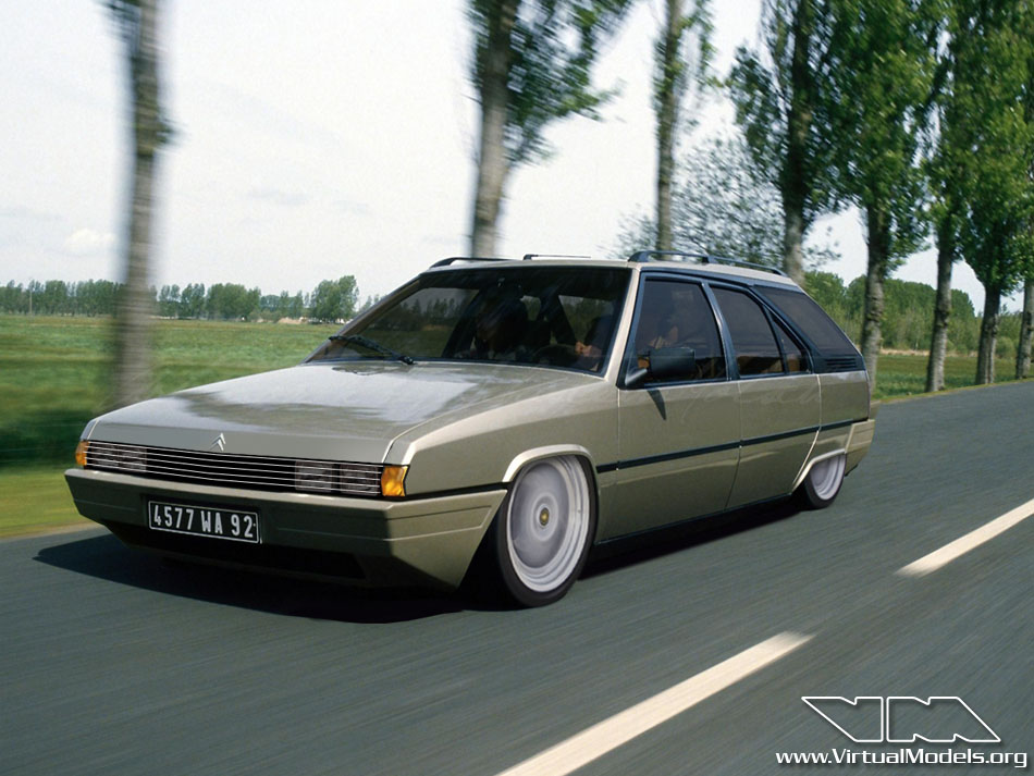 Citroen BX Break Concept | photoshop chop by Sebastian Motsch (2012)