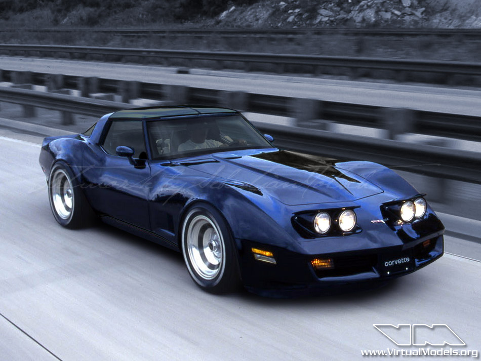Chevrolet Corvette C3 Stingray | photoshop chop by Sebastian Motsch (2011)