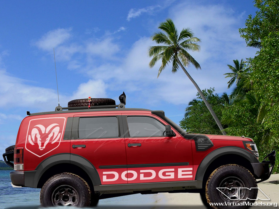 Dodge Nitro 4x4 | photoshop chop by Sebastian Motsch (2009)
