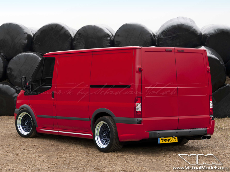 Ford Transit SportVan | photoshop chop by Sebastian Motsch (2010)