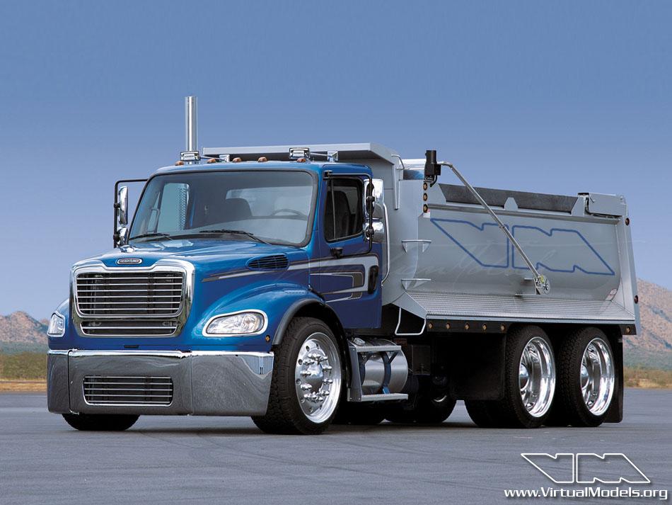 Freightliner Business Class M2 Dumper | photoshop chop by Sebastian Motsch (2012)