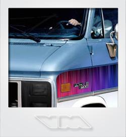 GMC Vandura Rally STX RainbowCruiser van